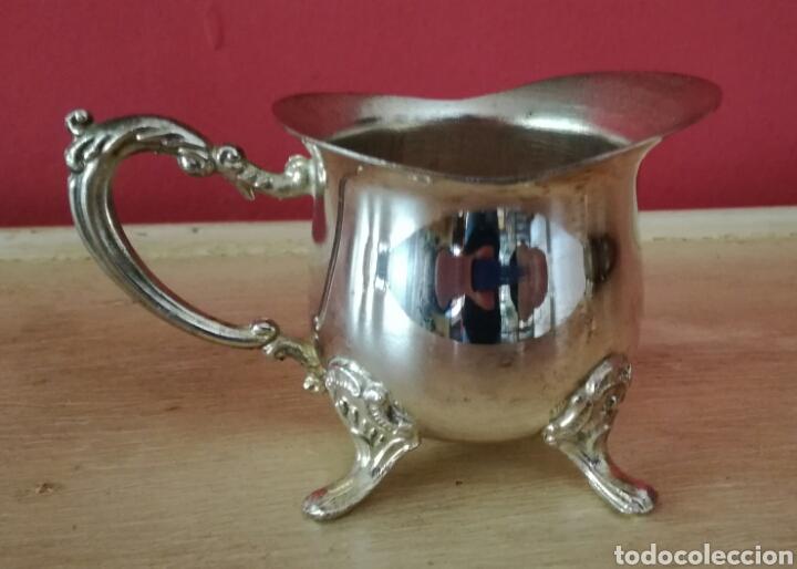 Antigüedades: Juego de metal bañado en plata - Foto 4 - 123130104