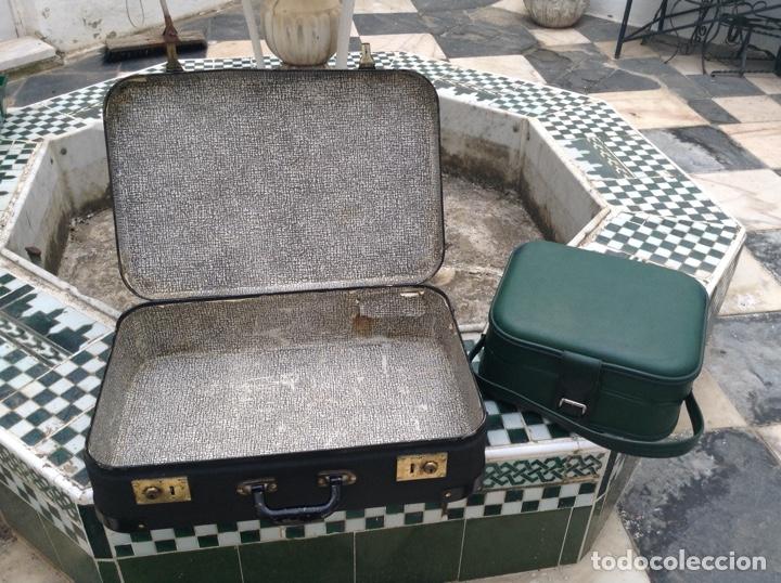Antigüedades: maleta años 60 - Foto 2 - 123214180