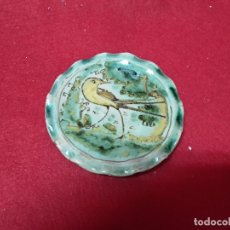 Antigüedades: PEQUEÑO PLATO S XIX PUENTE DEL ARZOBISPO. Lote 123275231