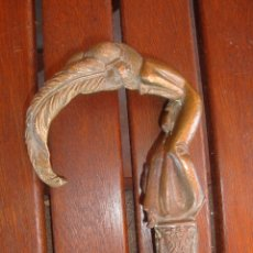 Antigüedades: EMPUÑADURA MODERNISTA. Lote 123282779