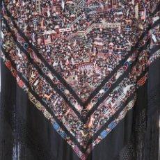 Antigüedades: MANTON DE MANILA CANTONES. Lote 119571111