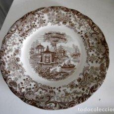 Antigüedades: UN PLATO LLANO LA CARTUJA DE SEVILLA PICKMAN 23. Lote 123292951