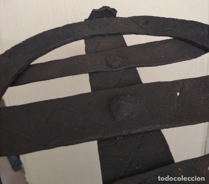 Antigüedades: ANTIGUO TEDERO HIERRO FORJA SIGLO XVII - XVIII - Foto 5 - 123326219