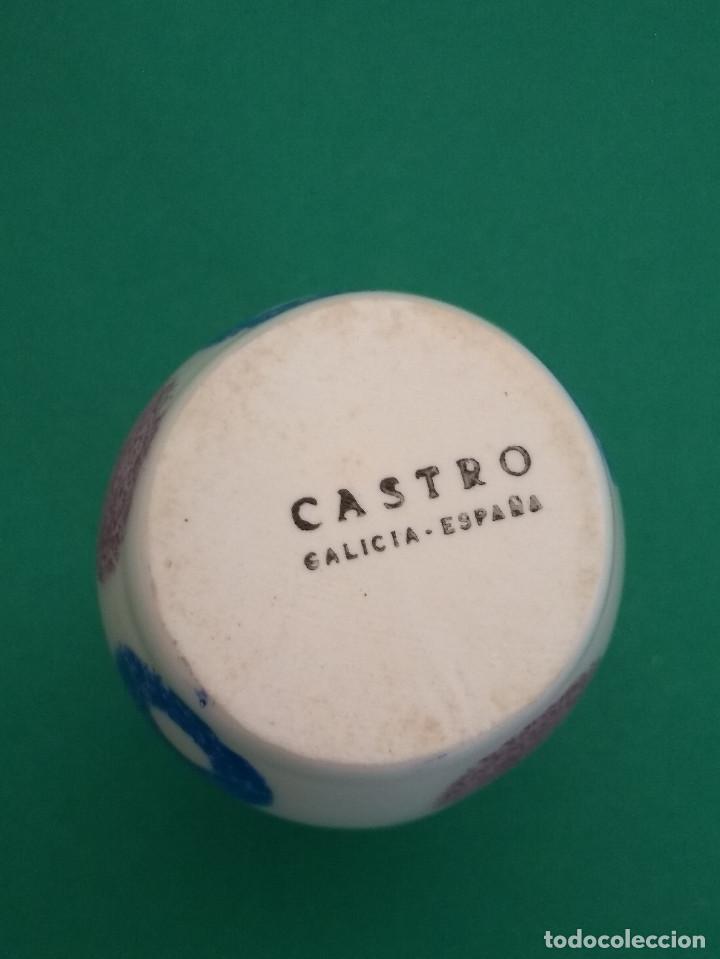Antigüedades: Palillero O Castro Sargadelos. Decoración Geométrica - Foto 3 - 123326435