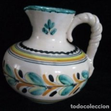 Antigüedades: JARRA FIRMADA SANGUINO PUENTE DEL ARZOBISPO TOLEDO. Lote 123342387