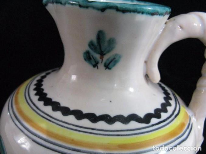 Antigüedades: JARRA FIRMADA SANGUINO PUENTE DEL ARZOBISPO TOLEDO - Foto 3 - 123342387