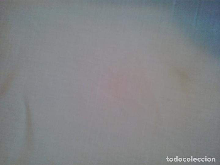Antigüedades: Sabana hilo lino ajuar 1919.Grandes iniciales .Funda de almohada mismo ajuar Encaje bolillos - Foto 6 - 123354559