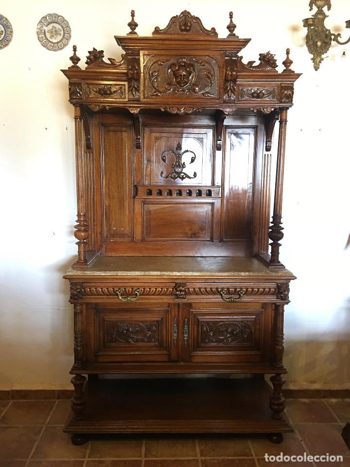 ANTIGUO MUEBLE APARADOR TRINCHERO (Antigüedades - Muebles Antiguos - Aparadores Antiguos)