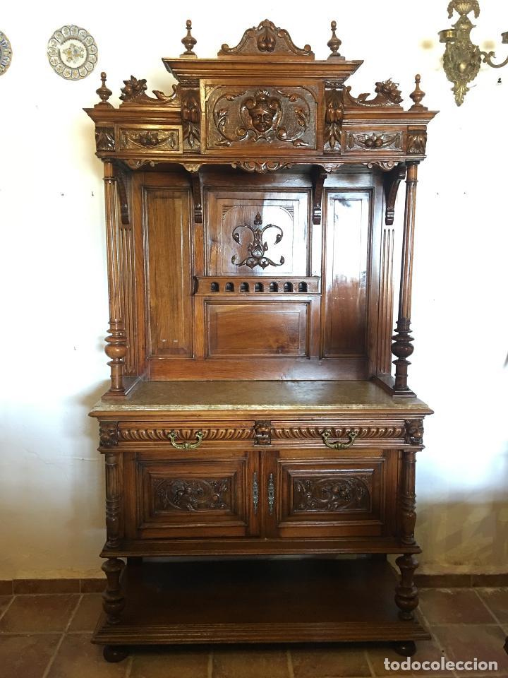 Antigüedades: ANTIGUO MUEBLE APARADOR TRINCHERO - Foto 2 - 123363607