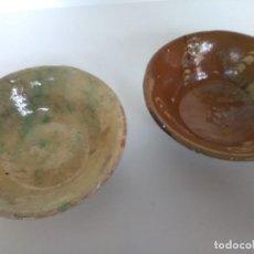 Antigüedades: LOTE DE 2 CUENCOS DE CERÁMICA TRADICIONAL DE ÚBEDA. Lote 123376963