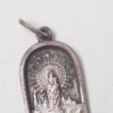 Antigüedades: MEDALLA VIRGEN DEL PILAR. Lote 123416919