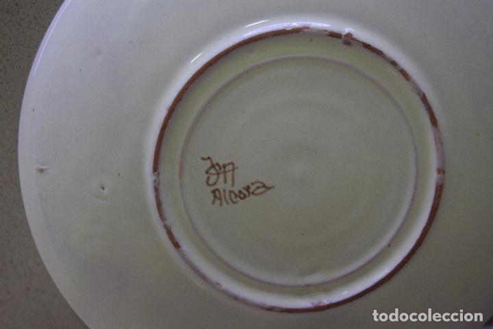 Antigüedades: plato de alcora - Foto 3 - 123535423
