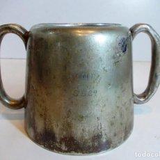 Antigüedades: ANTIGUA JARRA EN PLATA BAJA MARCA BOOTH SSC CON MARCAJE . Lote 123536039