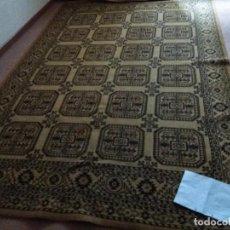 Antigüedades: ALFOMBRA ANTIGUA. Lote 123549099