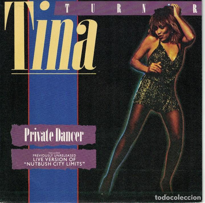 TINA TURNER - PRIVATE DANCER / NUTBUSH CITY LIMITS (SINGLE PROMO ESPAÑOL, CAPITOL 1984) (Música - Discos - Singles Vinilo - Funk, Soul y Black Music)