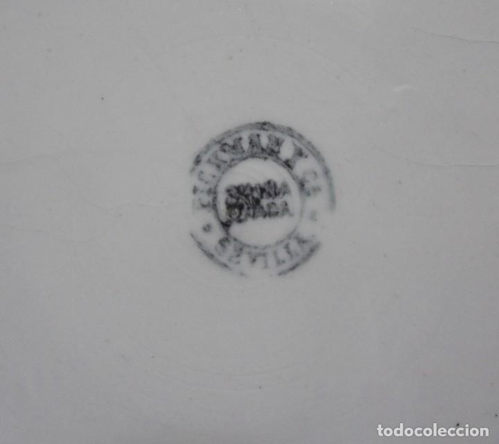 Antigüedades: ANTIGUO ALBARELO. PICKMAN Y CIA. SEVILLA. 27 CM. VER FOTOS - Foto 5 - 123579527