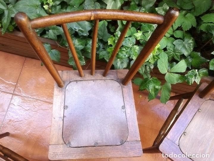 Antigüedades: Antiguas sillas de castaño - Foto 8 - 123582059