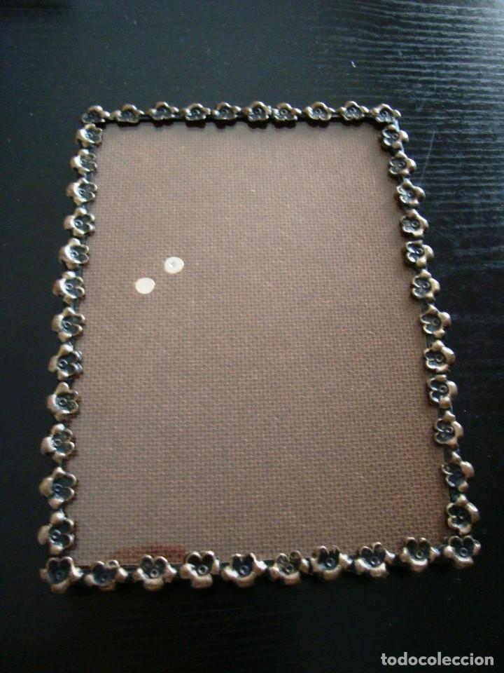 antiguo marco metálico para fotos 14 x 18,5 cm. - Comprar Portafotos ...
