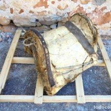 Antigüedades: ANTIGUA SILLA DE MONTAR MACHOS - MONTURA - ALBARDA RURAL. Lote 123746783