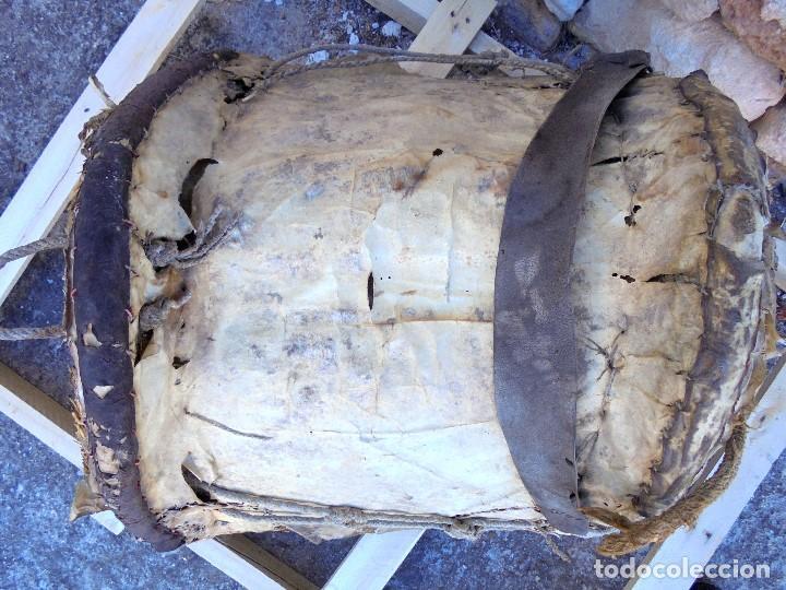 Antigüedades: AUTÉNTICA ALBARDA CASTELLANA - ANTIGUA MONTURA DE CABALLOS - SILLA DE MONTAR MACHOS - Foto 7 - 233173310