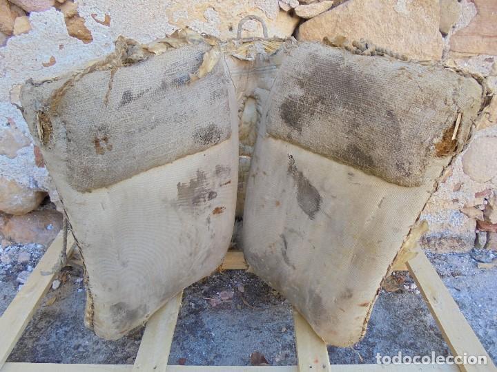 Antigüedades: AUTÉNTICA ALBARDA CASTELLANA - ANTIGUA MONTURA DE CABALLOS - SILLA DE MONTAR MACHOS - Foto 8 - 233173310