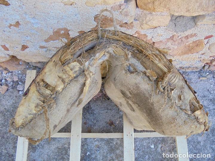 Antigüedades: AUTÉNTICA ALBARDA CASTELLANA - ANTIGUA MONTURA DE CABALLOS - SILLA DE MONTAR MACHOS - Foto 9 - 233173310