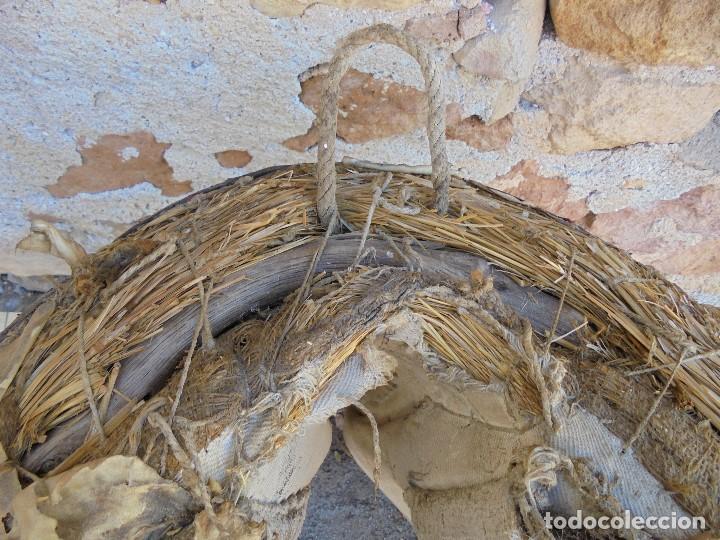 Antigüedades: AUTÉNTICA ALBARDA CASTELLANA - ANTIGUA MONTURA DE CABALLOS - SILLA DE MONTAR MACHOS - Foto 2 - 233173310