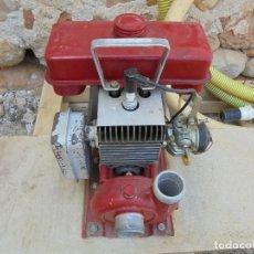 Antigüedades: ANTIGUO MOTOR DE RIEGO CAMPEÓN - BOMBA DE AGUA A GASOLINA. Lote 123755703