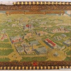 Antigüedades: PAÑUELO EXPOSICIÓN INTERNACIONAL BARCELONA 1929 DE TELA.. Lote 123757943