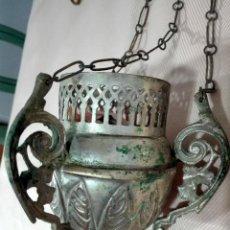 Antigüedades: ANTIGUO INCENSARIO ORTODOXO. Lote 123773851