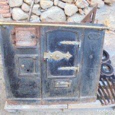 Antigüedades: ANTIGUA COCINA ECONÓMICA DE LEÑA Y CARBÓN - F. SALGADO - TIPO BILBAO Nº 7 - PRINCIPIOS S.XX. Lote 123782219