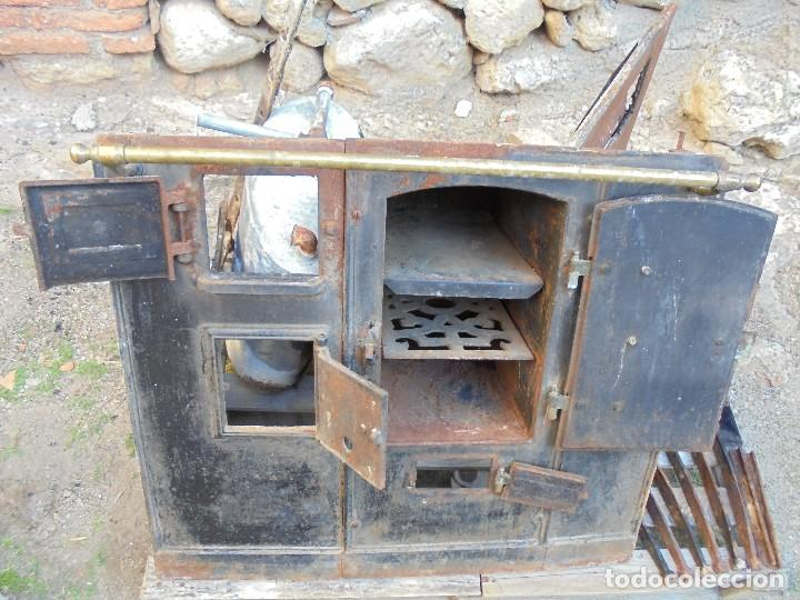 Antigua cocina econ mica de le a y carb n f comprar for Cocinas economicas de lena antiguas