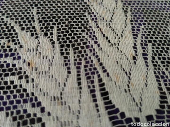 Antigüedades: Encaje en color beig - Foto 5 - 58479450