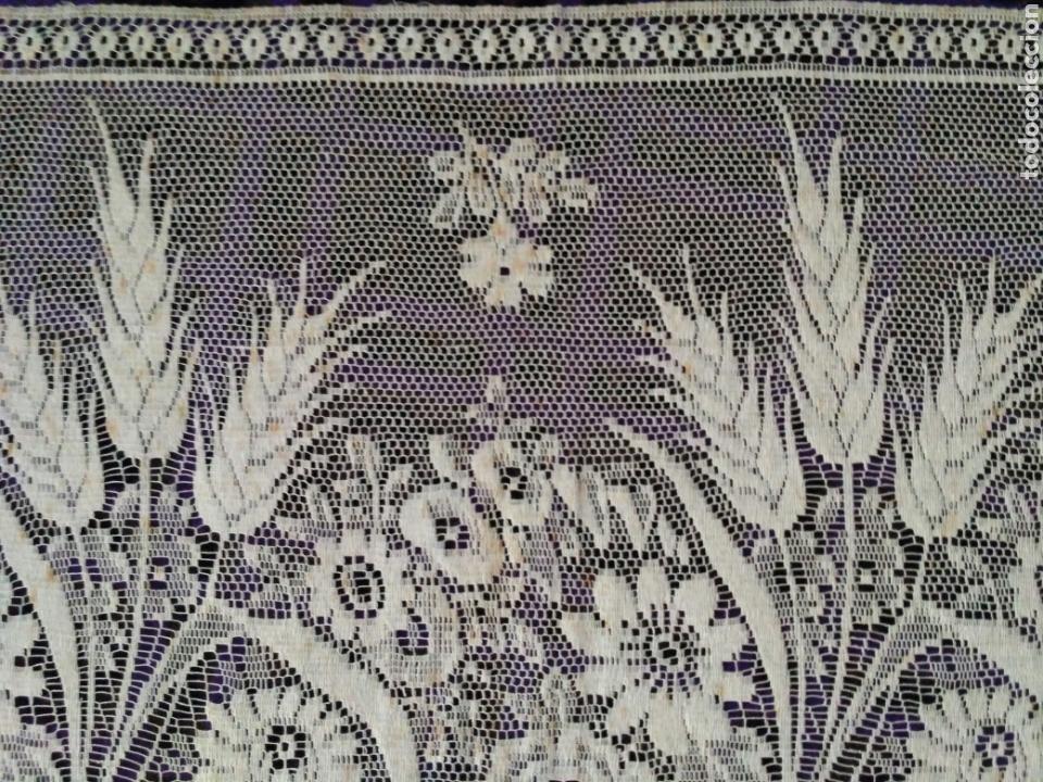 Antigüedades: Encaje en color beig - Foto 6 - 58479450