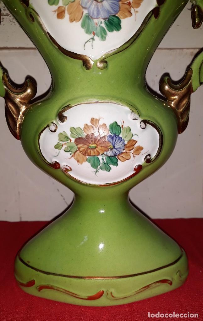 Antigüedades: JARRON DE PORCELANA VINTAGE - Foto 2 - 124038163