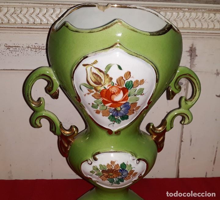 Antigüedades: JARRON DE PORCELANA VINTAGE - Foto 3 - 124038163