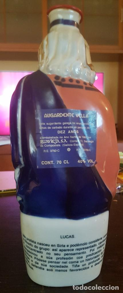 """Antigüedades: 5 Botellas de Aguardiente Profetas Isaias,Salomón,Lucas,Daniel y Santiago O Maior"""" Sargadelos - Foto 3 - 124140087"""