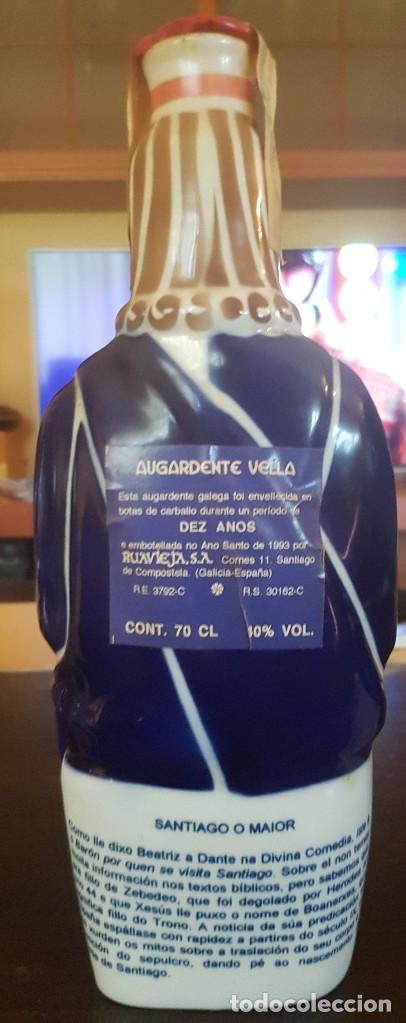 """Antigüedades: 5 Botellas de Aguardiente Profetas Isaias,Salomón,Lucas,Daniel y Santiago O Maior"""" Sargadelos - Foto 4 - 124140087"""