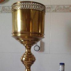 Antigüedades: MACETERO-COPA LATÓN . Lote 124153091