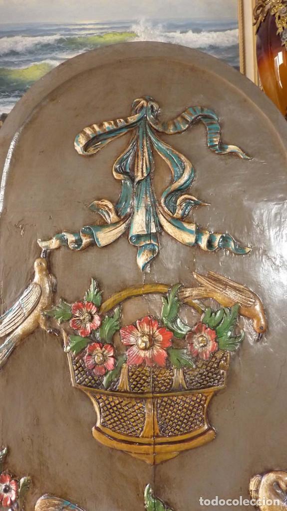 Antigüedades: PUERTA TALLADA - Foto 2 - 124307887