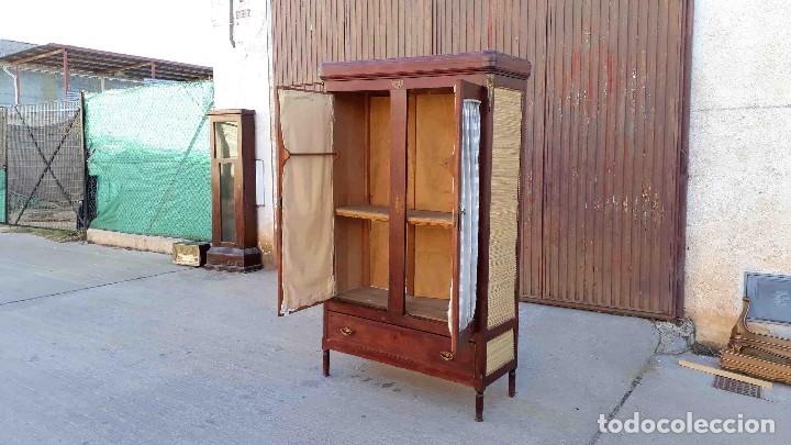 Antigüedades: Armario antiguo estilo modernista. Alacena antigua estilo rústico. Armario alacena vintage. - Foto 10 - 113364155