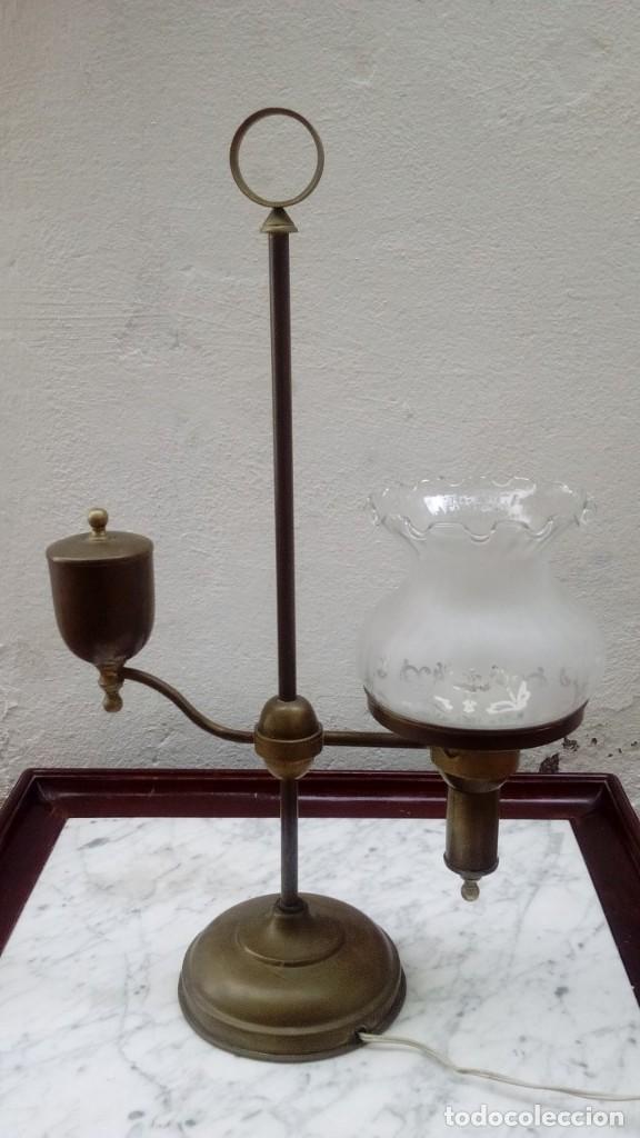 Antigüedades: Lampara modernista sobremesa - Foto 7 - 124437371