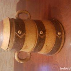Antigüedades: JARRA GRANDE CON TAPADERA. Lote 124448115