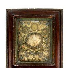 Antigüedades: (1) RELICARIO CATALAN ENMARCADO SIGLO XVIII. Lote 124488435