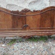 Antigüedades: CABECERO DE CAMA PERA COLGAR.. Lote 124510339