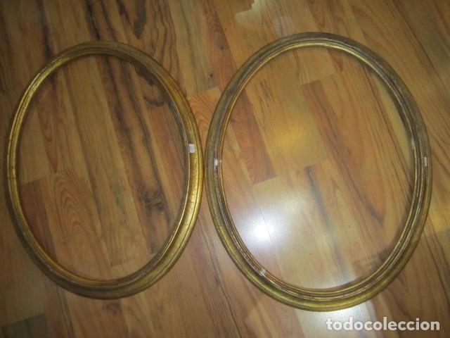 2 marcos ovalados de madera. inteiror: 60 x 40 - Comprar Marcos ...