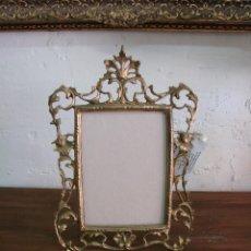 Antigüedades: MARCO DE FOTOS DE BRONCE. Lote 124530327