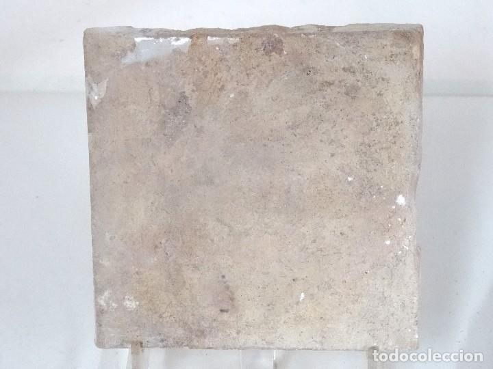 Antigüedades: Pareja de azulejos de cenefa catalanes S.XVII - Foto 4 - 124541931