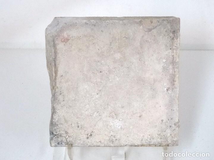 Antigüedades: Pareja de azulejos de cenefa catalanes S.XVII - Foto 8 - 124541931