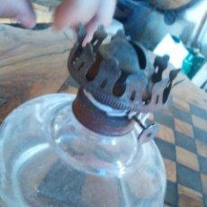 Antigüedades: LAMPARA O QUINQUE MUY RARO Y ANTIGUO..OVALADO. Lote 124563655